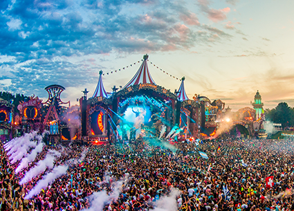 Tomorrowland sfeer